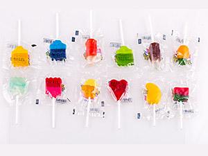3D and Fancy filled multicolors Lollipop